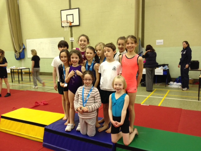 Gymnastics winners